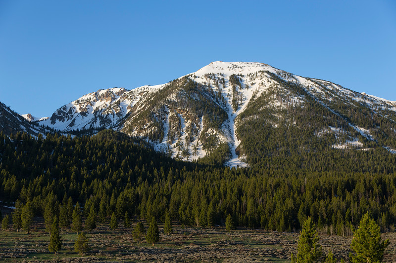 East Centennial Mountains, this peak is between Mt. Jefferson and Nemesis Mtn