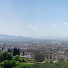 Granada, Spain City Skyline seen from the Alhambra