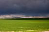 Storm forming over Snake River plain near Ririe, Idaho.