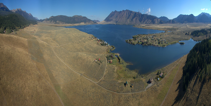 Henry's Lake (horizontally compressed)