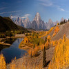 Snake River and Mount Moran Fantasy