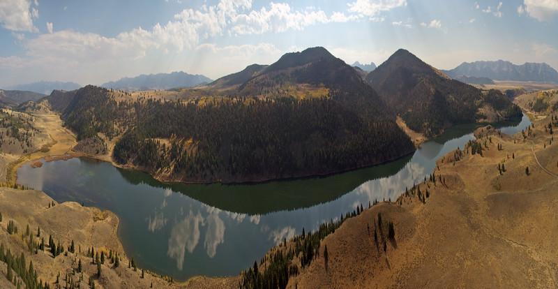 Elk Lake, MT (compressed Horizontally)