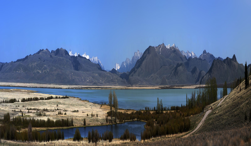 Shambo Pond in Red Rock Lakes National Wildlife Refuge, If the mountains were taller.