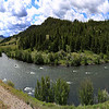Madison River (squeezed panoramic view)