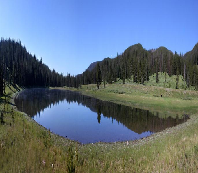Divide Lake, Yellowstone....July 2012