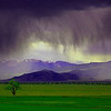 Madison River Valley Colored Storm