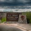 Big Bend Nat'l Park entrance sign