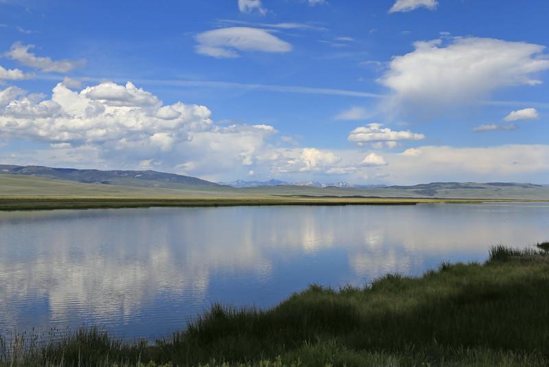 Madison Range from River Marsh, Lower Red Rock Lake RRLNWR