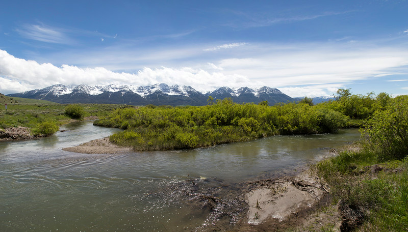 Red Rock Creek and Centennial Mountains
