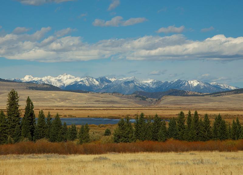 Upper Red Rock Lake and Madison Range
