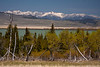 Madison range and Upper Red Rock Lake. May 14, 2012