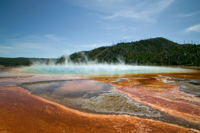 Grand Prismatic Spring, Yellowstone National Park, Sep 2008
