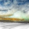 Geyser Steam in Winter