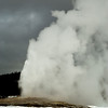 Old Faithful in Snow