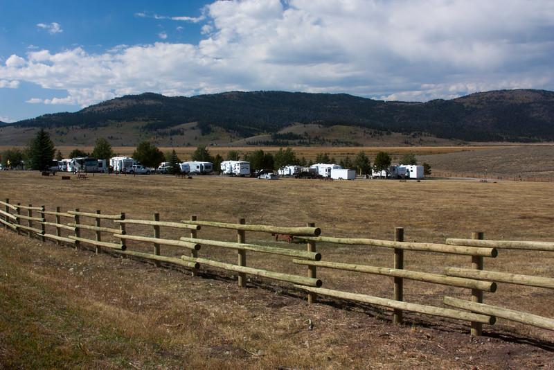 New Fence at RedRock RV Park. Sep 17, 2012