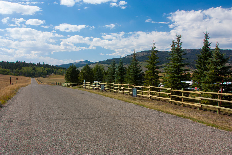 New Fence along RedRock RV Park next to Red Rock Road. Sep 17, 2012