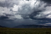 Storm forming over Black Mountain. July 27, 2012