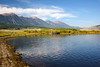 Henry's Lake (southwest end) and Centennial Mtns. Sep 9, 2012.