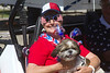 Darlene shows off her pride and joy in the Fourth of July Parade at RedRock RV Park in Island Park, Idaho. July 2, 2012