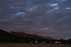 Sunrise and RedRock RV Part. Centennial Mountains at first light. Sep 2013