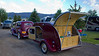 """Vintage car and innovative """"RV"""" visited RedRock RV Park this year. 2012"""