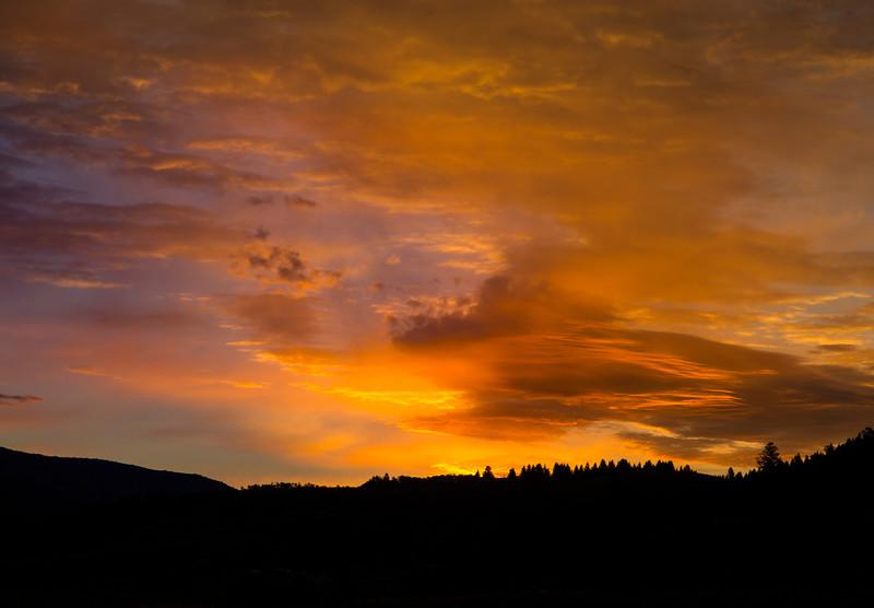 Fall sunrise from RedRock RV Park. Sep 24, 2013