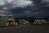 Storm forming over RedRock RV Park, Island Park, Idaho. July 27, 2012.