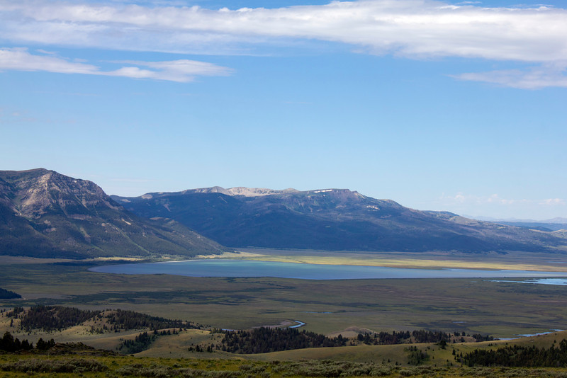 Upper Red Rock Lake from near the top of Deer Mountain, Red Rock Lakes National Wildlife Refuge, MT. July 21, 2012.
