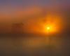 Sunrise and river, Isleton, CA Nov 28, 2010