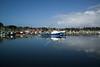 Wide view of  the marina at Ilwaco, Washington. Oct 2012.