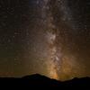 Milky Way and Sawtelle Peak (idaho)