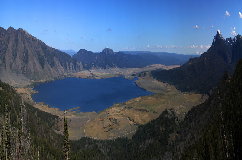 Henry's Lake from Montana/Idaho border