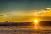 Sunrise over Teton Mountains