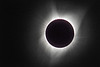 Corona around eclipse