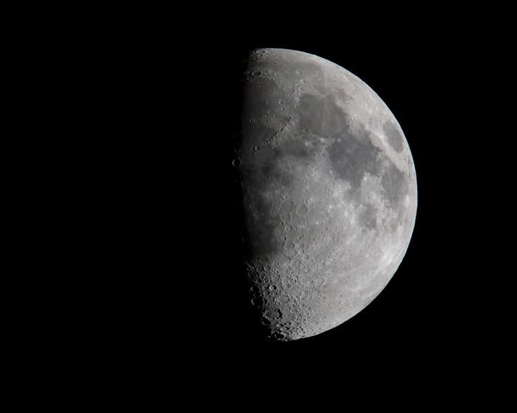 Half-moon. Dec 6, 2008, Silent Valley Club, California.