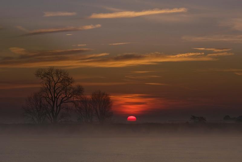 Mokelumne River Sunrise