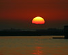 Sunrise at Isleton, CA from the banks of the lower Mokelumne River on the Sacramento River Delta. Oct 2008