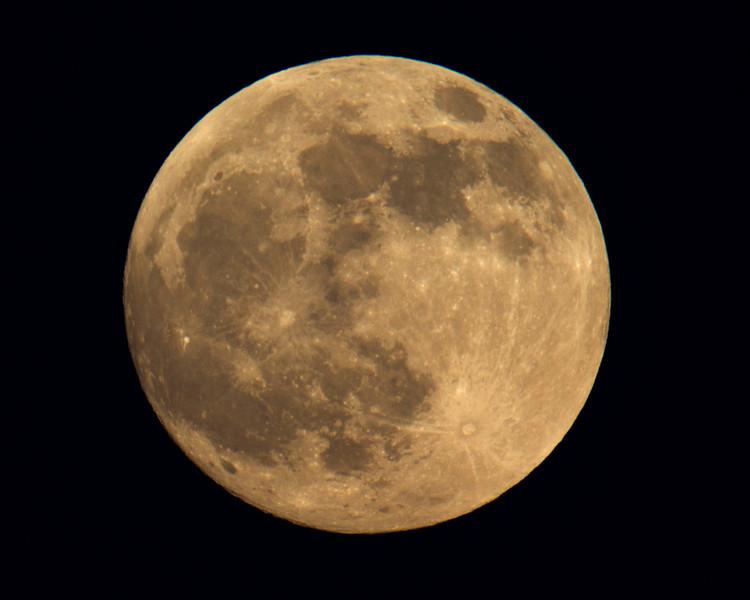 Full moon rising in Isleton, CA.  Dec 9, 2011