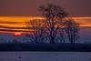 Sunrise over the lower Mokelumne River