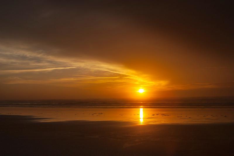 Sunset at Long Beach, WA. Oct 2012