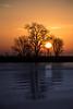 Sunrise and the lower Mokelumne River.