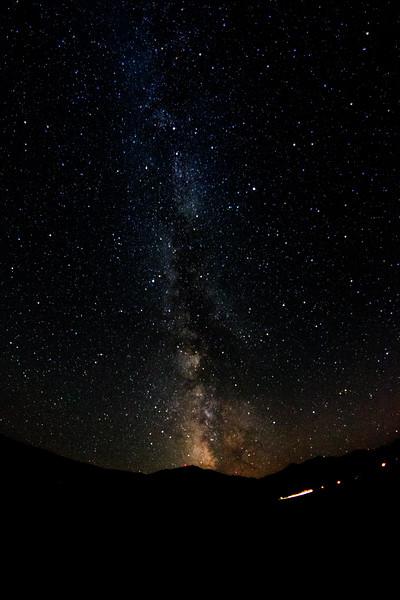 Milky Way with Sawtelle Peak beacon