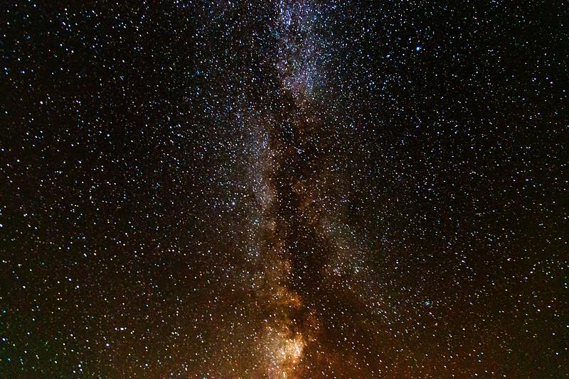 Milky Way over RedRock RV Park, Island Park, Idaho
