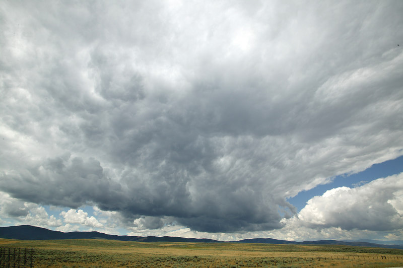 Thunderhead in Wyoming.