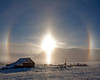 Twenty-two degree  Ice Halo