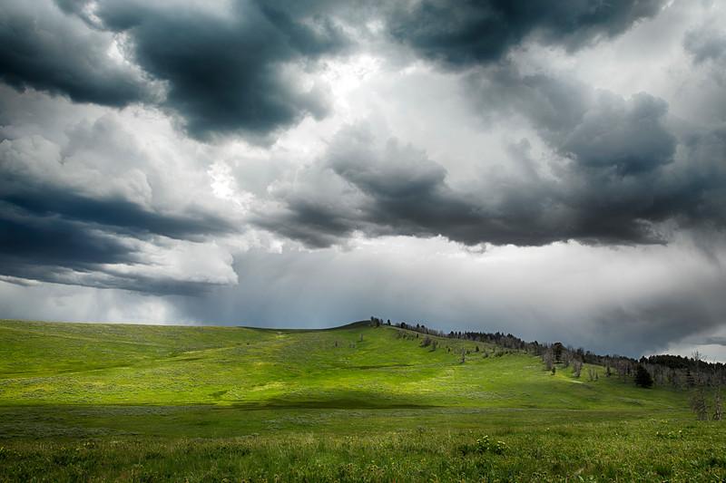 Gravelly Range Ridge Road storm