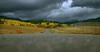 Storm approaching along Red Rock Road, near Island Park, Idaho. Sep 2007