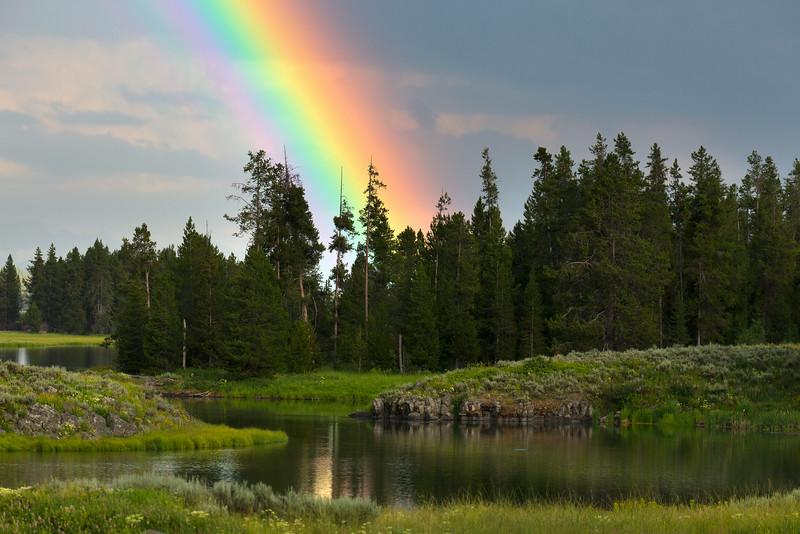 Rainbow over Harriman State Park