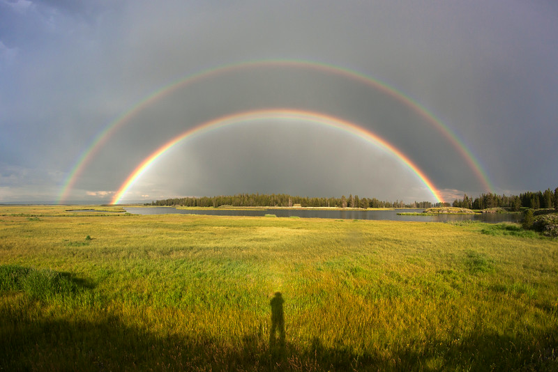 Double Rainbow over Henry's Fork of the Snake River