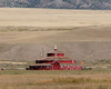 Hexagonal Barn in the Ruby Valley of Montana.